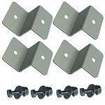 A set of 4-Z Mounting Brackets