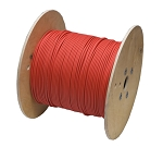 200m AWG 10 PV Solar Cable RED