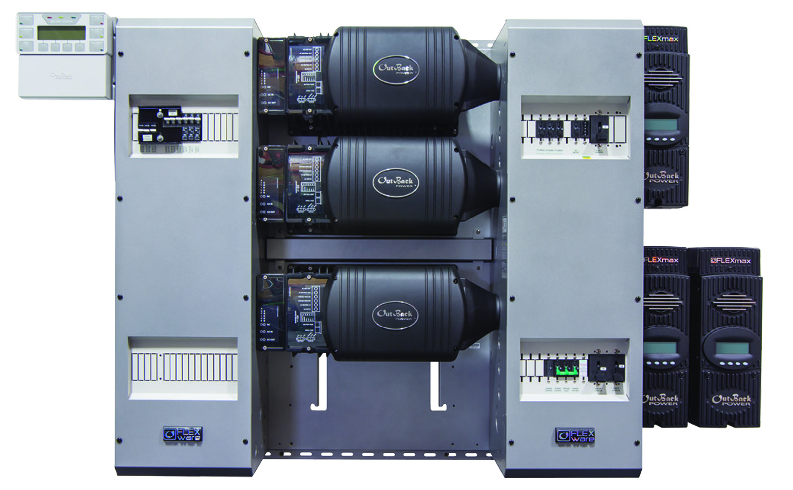 Outback 9kw Flexpower Three Triple Fxr3048a Inverter