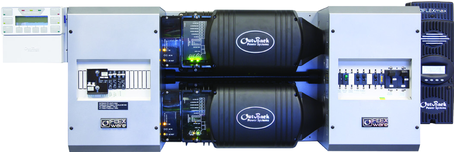 Outback 6kW FLEXpower TWO Dual FXR3048A Inverter