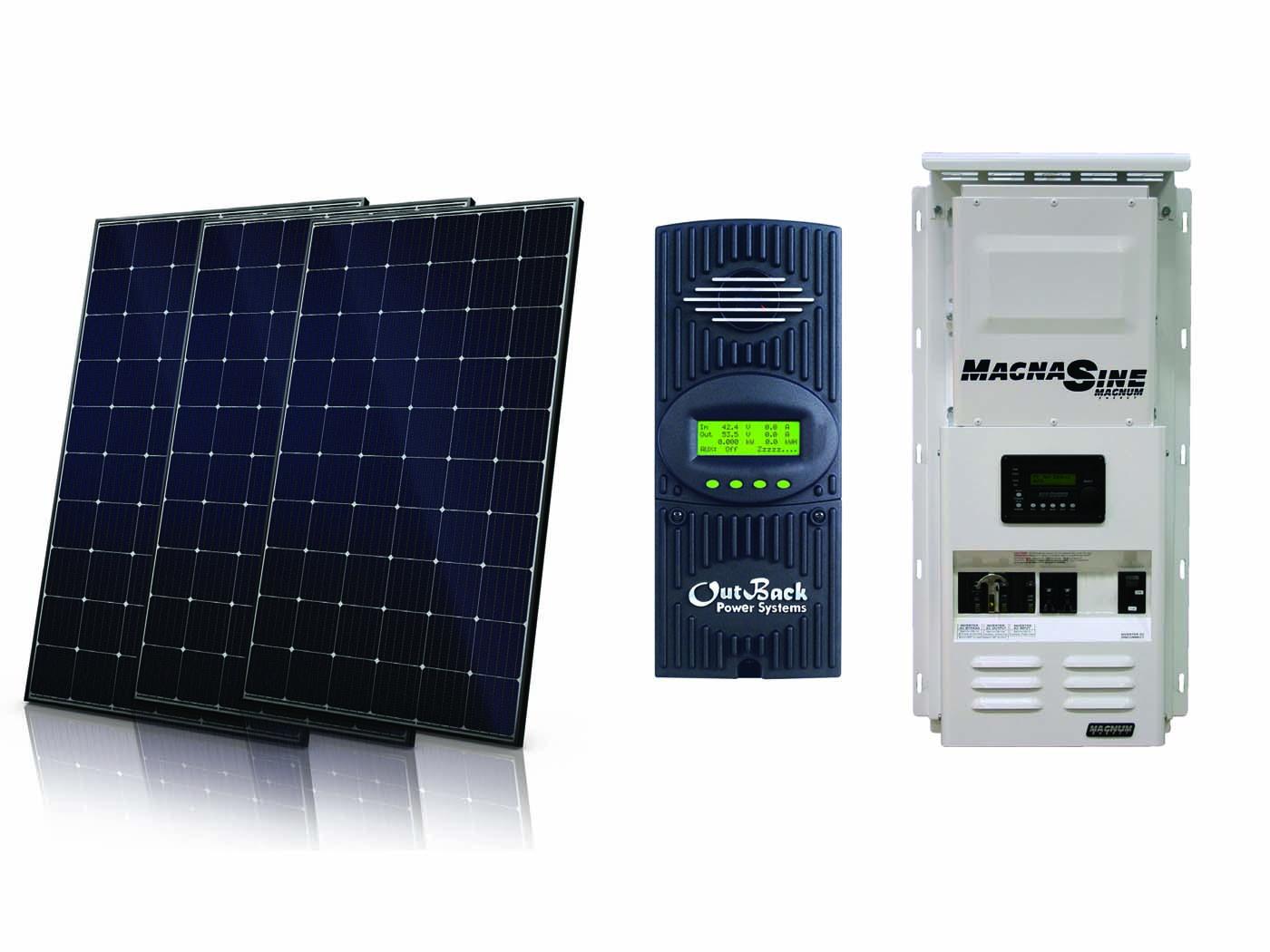 1800w Off Grid Solar Kit