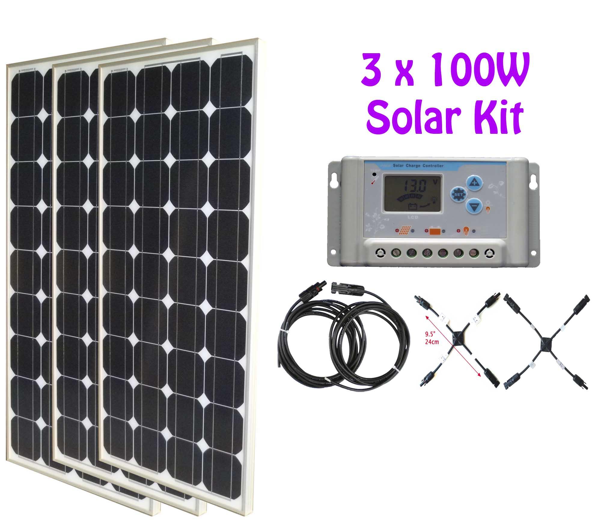 300w Solar Kit 1