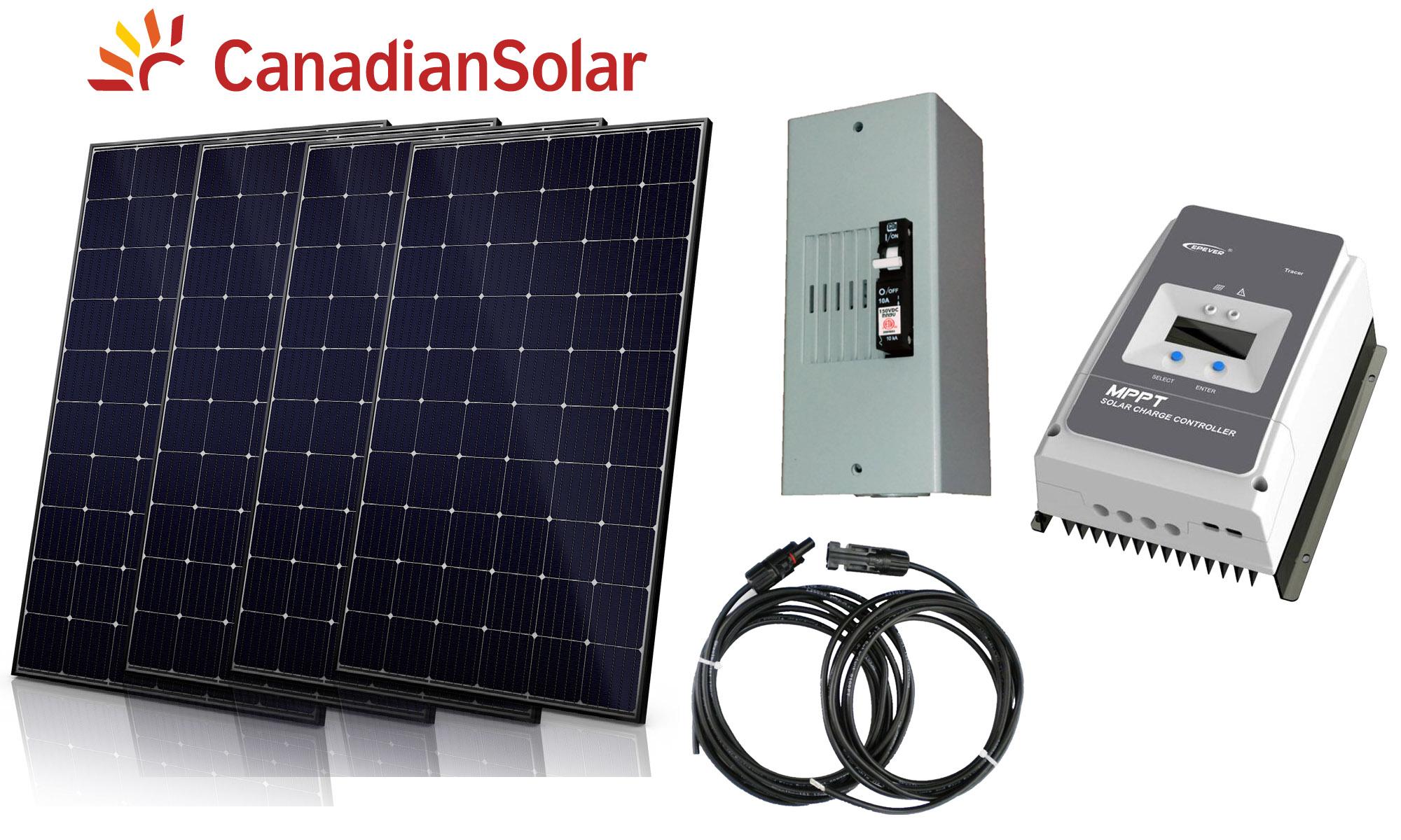 1200w Mppt Solar Kit 2
