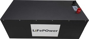 Lithium LiFePO4 Battery 100Ah 48V