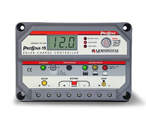 Morningstar Prostar PS-15M 15A Charge Controller Display