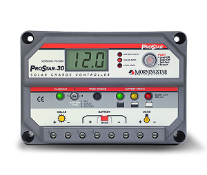 Morningstar Prostar PS-30M 30A Charge Controller Display