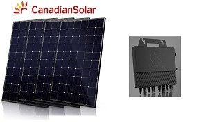 4.9kW Solar Kit with micro inverter
