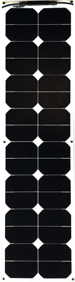 50W Semi Flexible ETFE Solar Panel Slim